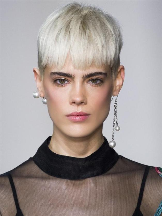 Platinum Blonde Short Haircuts