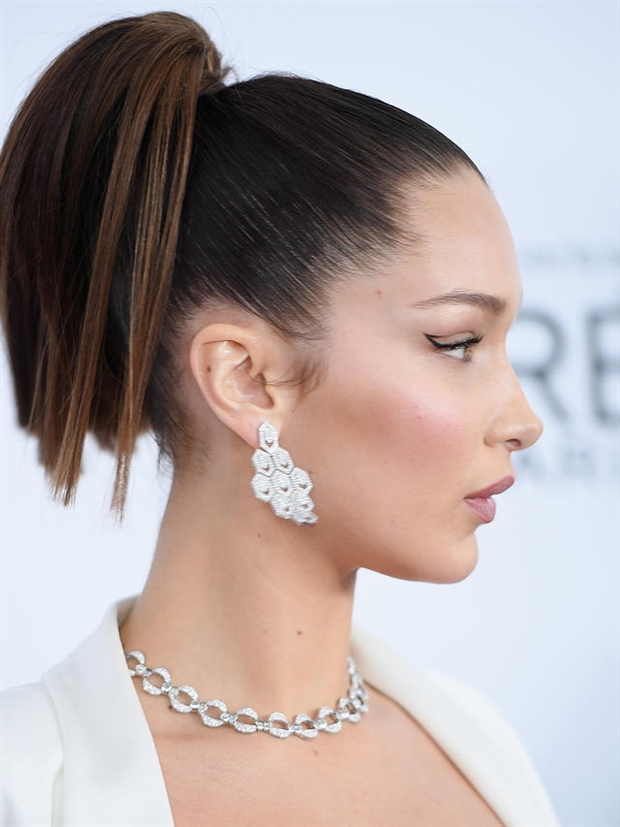 Ponytail Extension Bella Hadid Trend Hairstyles for Ponytail Hair