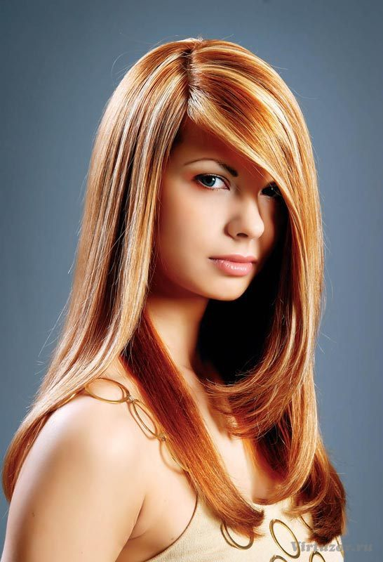 straight red hairstyles new