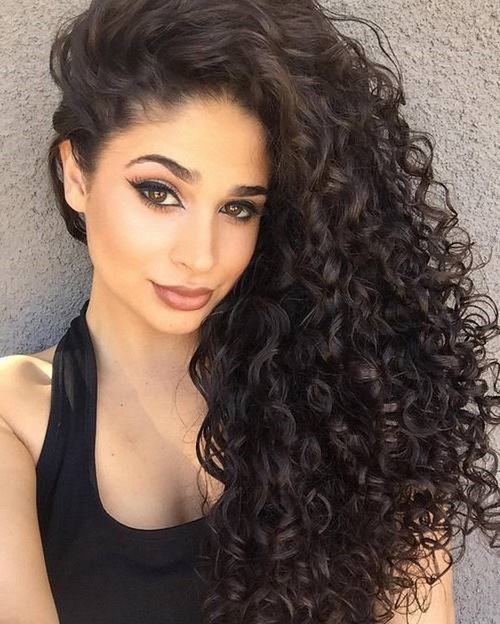 Classic Curly for Long Hairstyles