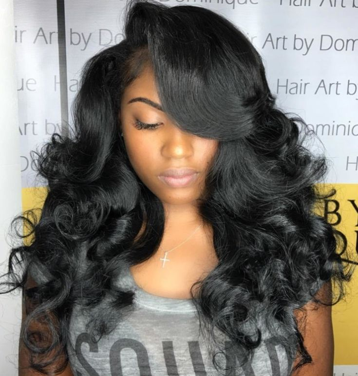 Hairstyles for Long Hair Black