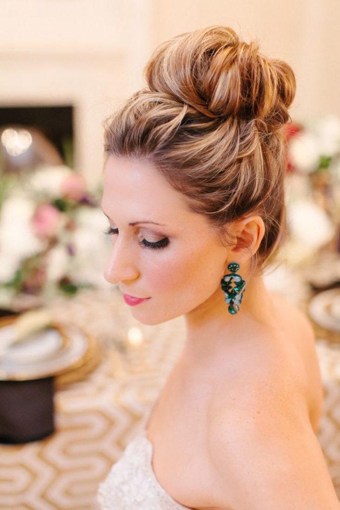 bun hair for bridal hairstyles