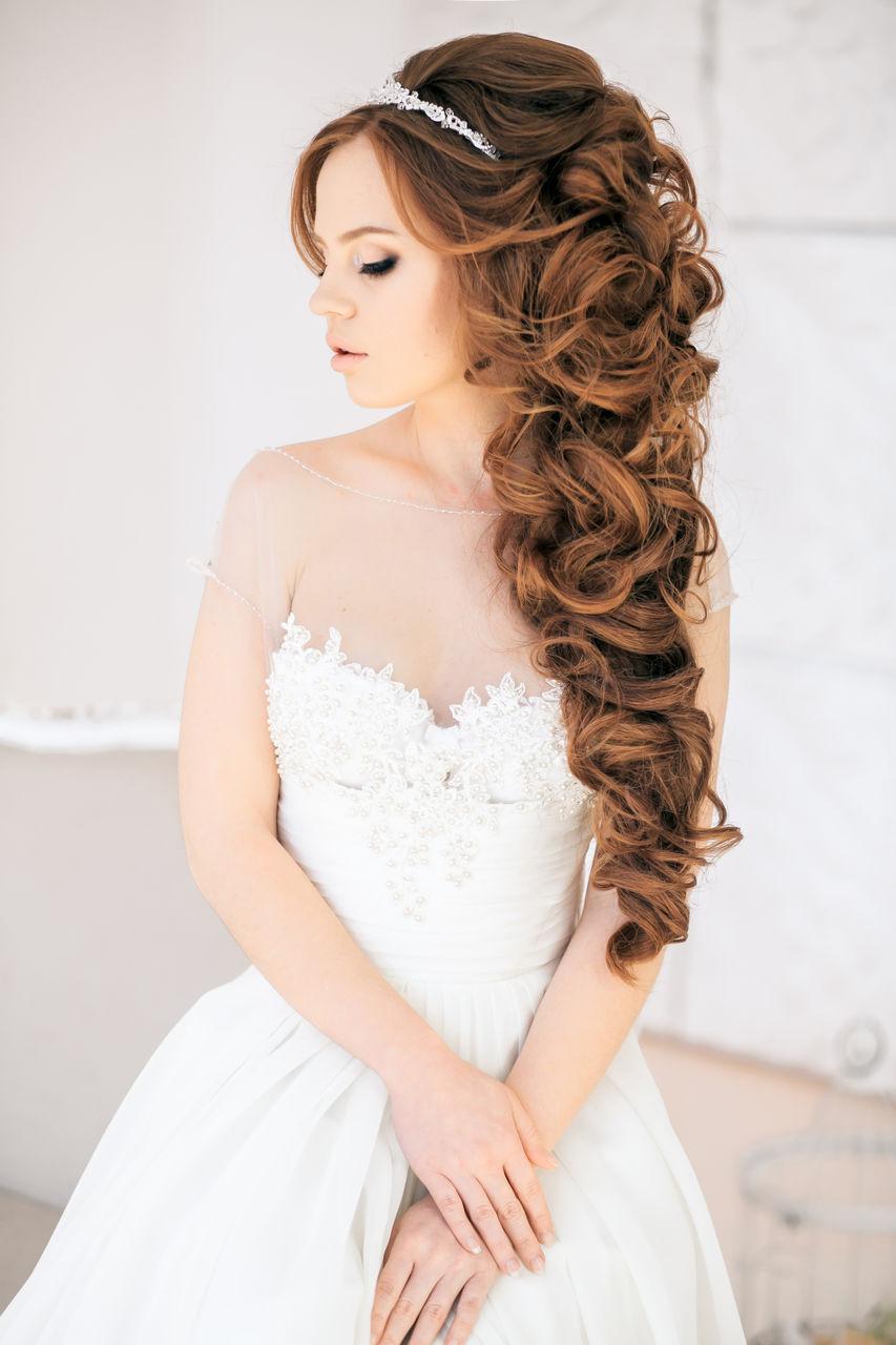 long hairsytles for bridal
