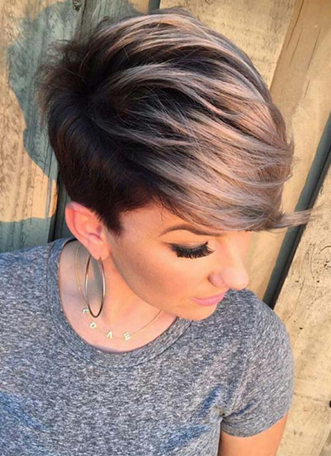 Short Grey Hairstyles for Women 2021