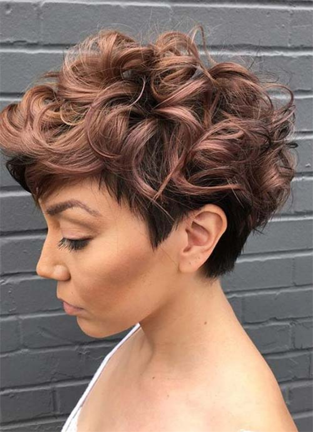 Short Hairstyles for Curly 2021