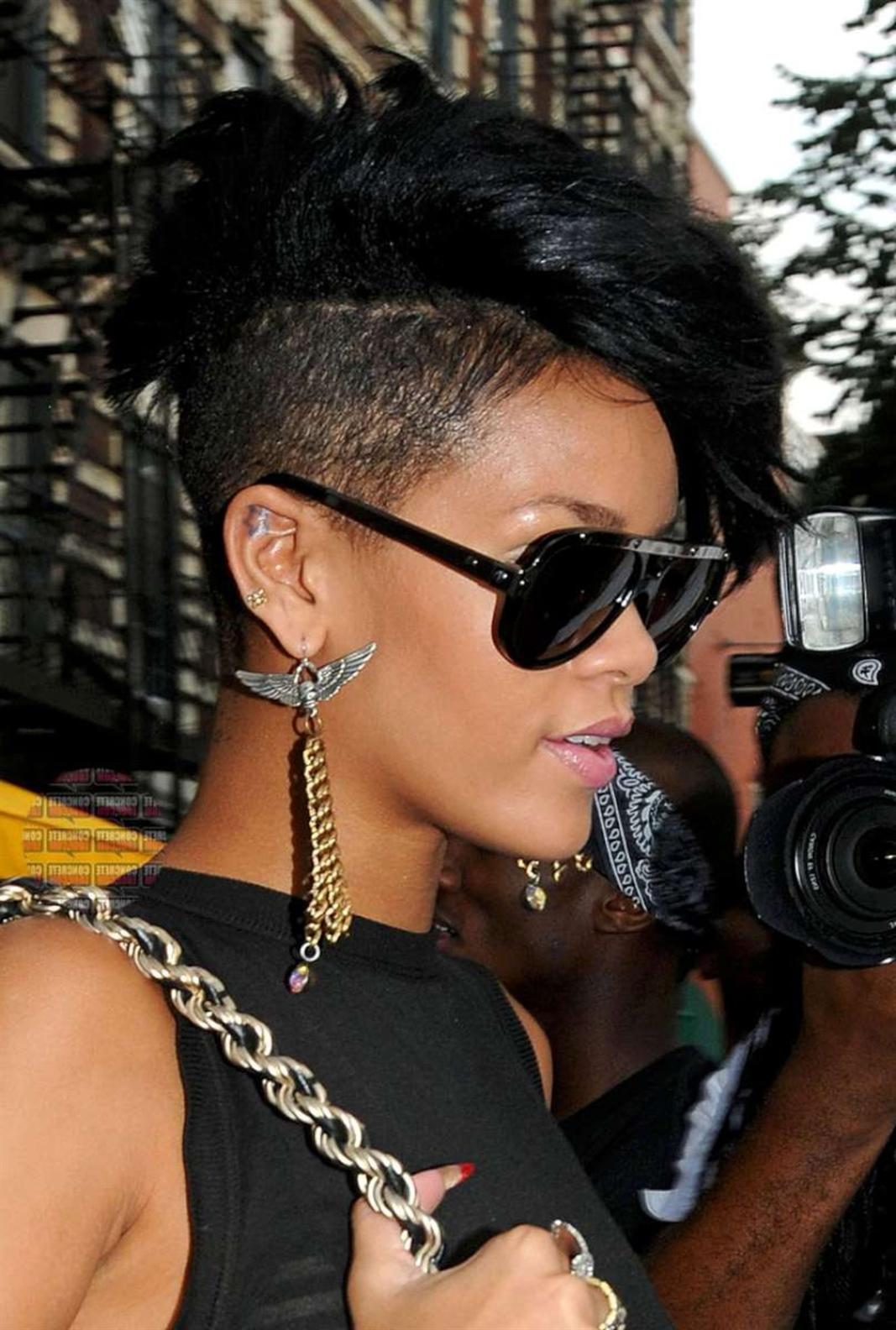 Short Undercut Hairstyles 2021 Rihanna
