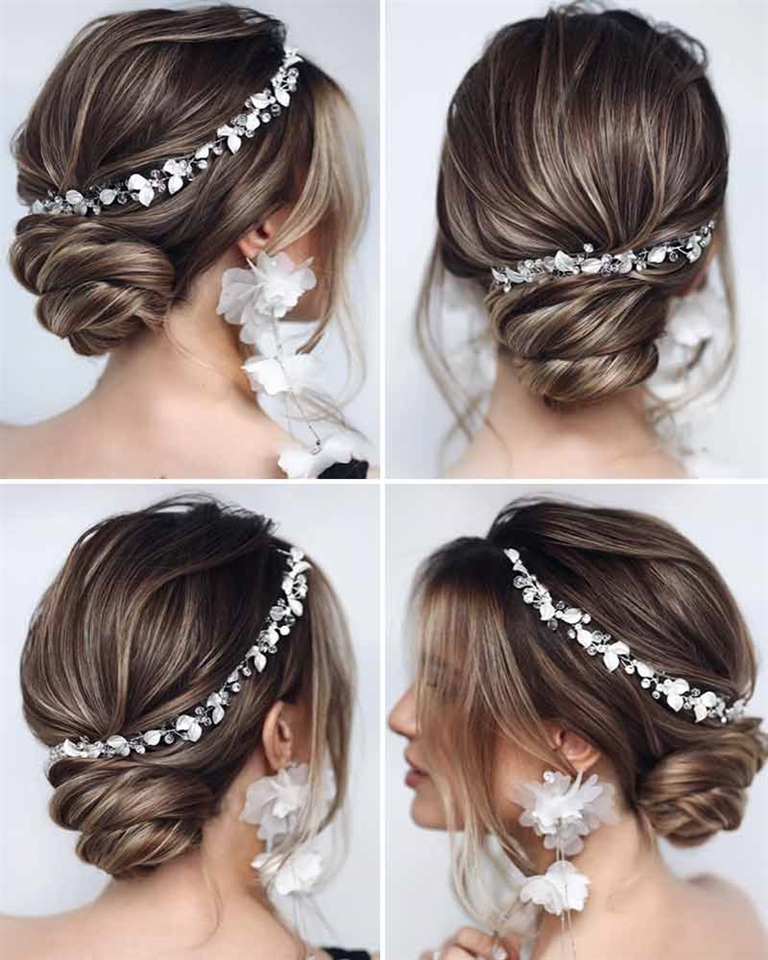 Wedding Day Updo Hairstyles 2021