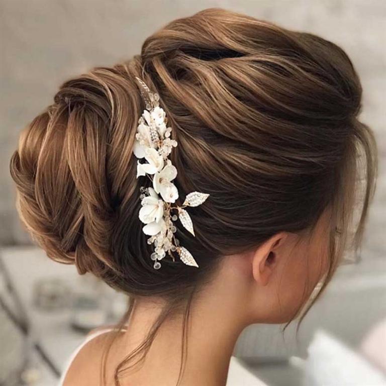 Wedding Hairstyles 2021 Bun