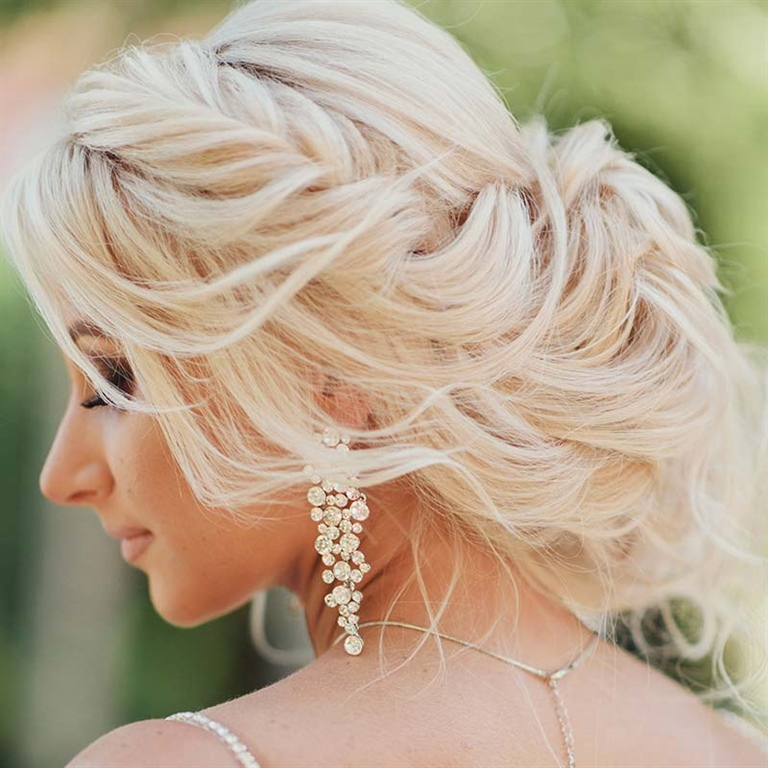 Wedding Hairstyles 2021 for Blonde
