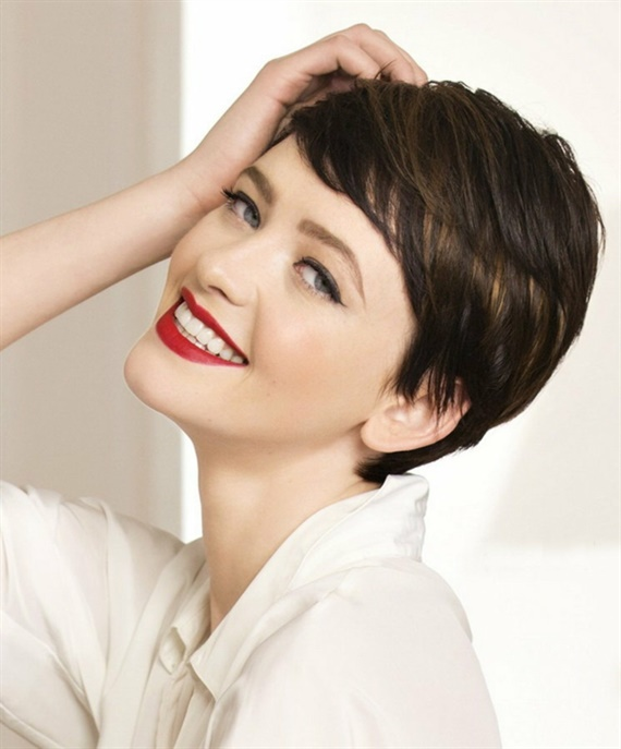 Shorthairstyles with Pony for Summer 2021