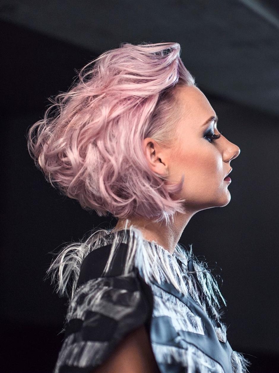 Short Hair Colors 2021 Pink