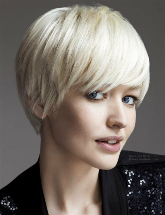 Short Hair Trends with Bangs